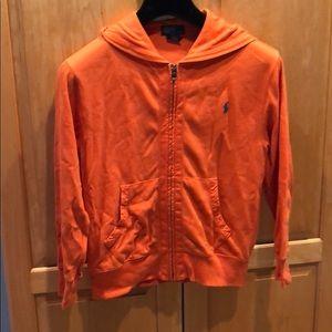 Polo orange sweatshirt